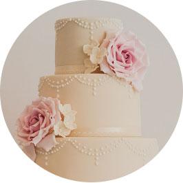 contact me wedding cake